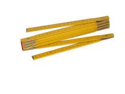 Metr skládací dřevěný 1m - hobby