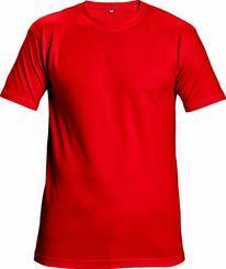 Triko TEESTA červená  L    (5273)