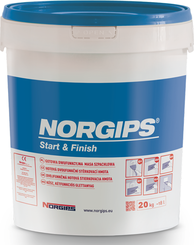NORGIPS Ready Mix 20 kg modrý