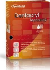 Dentacryl bezbarvý - souprava 200g  (licí pryskyřice)