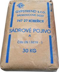 Sádra šedá 30kg   (40ks/pal)