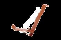 Držák mříže sněholamu 20 cm za přídavnou lať Černá
