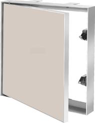 Revizní dvířka 300x300 do zdiva pod obklad (zapuštěná deska)
