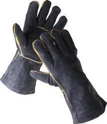 Rukavice SANDPIPER BLACK  celokože - (90) svářečské