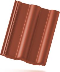 Classic PP AERLOX taška základní 1/1 rubínově červená