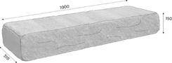 CSB Naturblok schod tl.15cm naturcolor roca