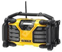 Stav.rádio DCR016-QW nap.220V nebo XR baterií - bez baterie/příjem anal.signálu/AUX vstup Dewalt