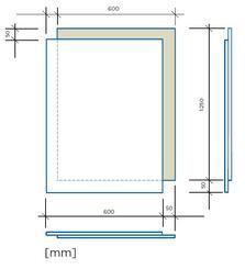 RigiStabil E25 podlahový dílec 600x1250x25