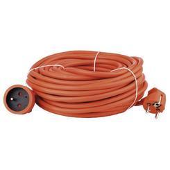 Kabel prodlužovací 30m/250V, oranžová