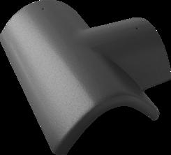 Hřebenáč rozdělovací T 235 pravý EXCLUSIV břidlicově černá