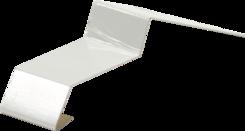 Balkónová spojka 32mm bílá