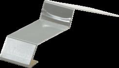Balkonová spojka 32mm šedá