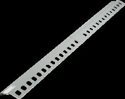 Balkónový profil rohový 1x1m šedý
