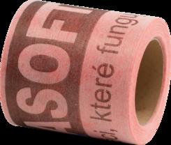 Těsnicí pás  /bal.10m/ 12cm - PROFI červený
