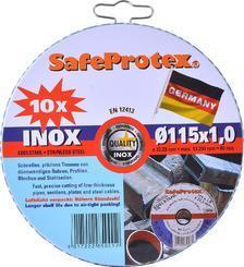 SET 115x1.0 Safeprotex INOX (Dósa) 10ks