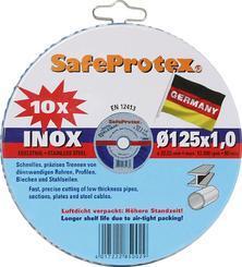 SET 125x1.0 Safeprotex INOX (Dósa) 10ks