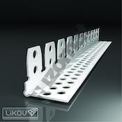 G-KL PVC 30x30/2500/lišta klenbová (125m/bal)  414.3025