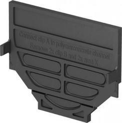 ACO SELF kombinovaná čelní stěna, plast, černá (319288)