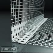 LK PVC 100/2500/VERTEX (125m/bal)  PVC roh s tkaninou 115.1025.VT