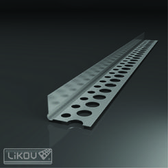 G-LPU 0,30/22x12/2500mm AL lišta ukončovací (sádrokarton, pórobeton) (200ks/bal)