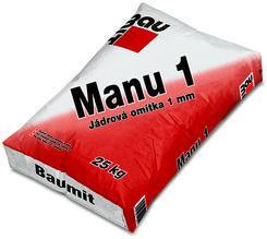 Baumit Manu 1 jádrová omítka 1 mm  25kg
