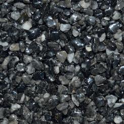Mramorové kamínky 25kg antracit 3-6mm pro kamenný koberec NEW