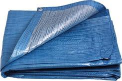 Plachta zakrývací Standard, 3 x 4 m, modro - stříbrná, ENPRO