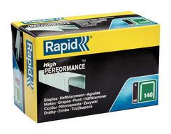 Spony 140/8mm/5000ks rapid, zelené