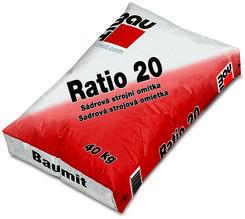 Baumit Ratio 20 (MPI 20 strojní sádrová omítka vnitřní) 40kg