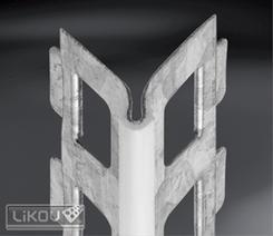 PZE-RC 07/3000/lišta rohová s PVC hranou Catnic (6000) (15ks/bal)  546.30