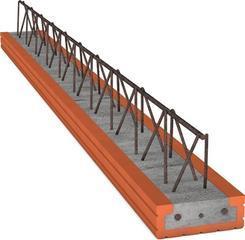 KMB Keramický stropní nosník miako 4250x160x189