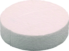 Polystyrenová záslepka KES 63mm šedá (250ks/bal)