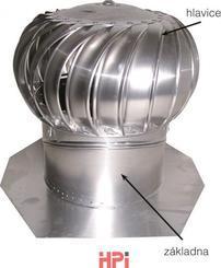 Ventilační turbína LOMANCO BIB- vnitřní osazení 101BIB14