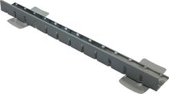Kačírková a okrajová lišta  TW KL 65, dl. 2m