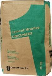 UNICEMENT Portlandský směsný cement CEM V/A (S-V) 32,5 R 25kg folie