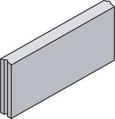 Best obrubník PARKAN I v.20cm 50x5cm antracit