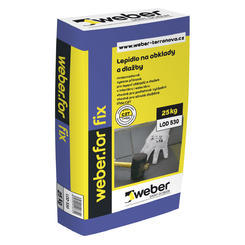Weberfor fix lepidlo na obklady a dlažby C2T 25kg