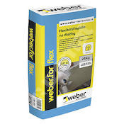 Weber for flex - flexibilní lepidlo C2T S1  25 kg