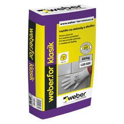 Weberfor klasik lepidlo na obklady a dlažby C1T 25kg