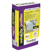 Weber.for profiflex (LD) C2T S1 nízkoprašné flexibilní lepidlo  25kg