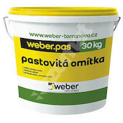 Weber.pas akrylát zrnitý 1,5mm (bezpříplatkový odstín) 30kg