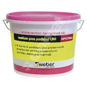 Weber.pas podklad UNI U (šedý) 20kg