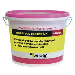 Weberpas podklad UNI R (červený) 1kg