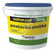 Weber.pas silikát zrnitý 1mm (bezpříplatkový odstín)  30kg