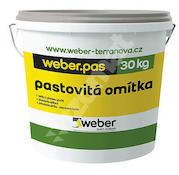 Weber.pas silikon zrnitý 1mm (bezpříplatkový odstín) 30kg