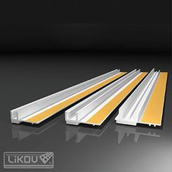 PS-VH 06/2400/lišta okenní začišťovací 6mm (144m/bal)  501.24.99