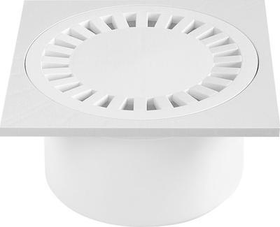 Podlahová vpusť PV DN 50/84 B bílá/spodní (503) - 1