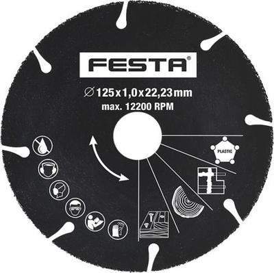 Kotouč diamantový univerzální segmentový Festa 125 x 1 x 22,2 mm