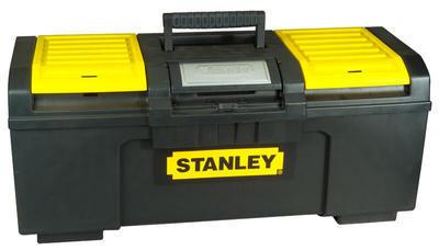 Box na nářadí Stanley s přezkou One Hand Operation 48,6 x 26,6 x 23,6 cm 1-79-217