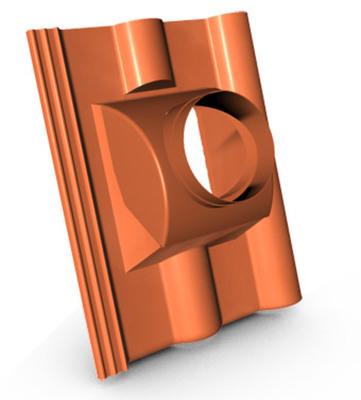 KM Beta taška odkouření turbokotle briliant cihlová